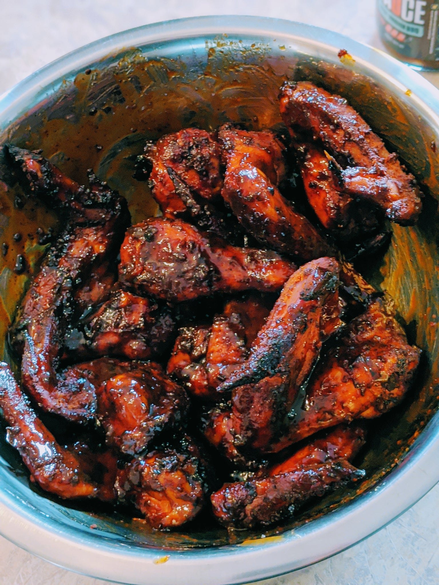 Spicy Smoked Chicken Wings