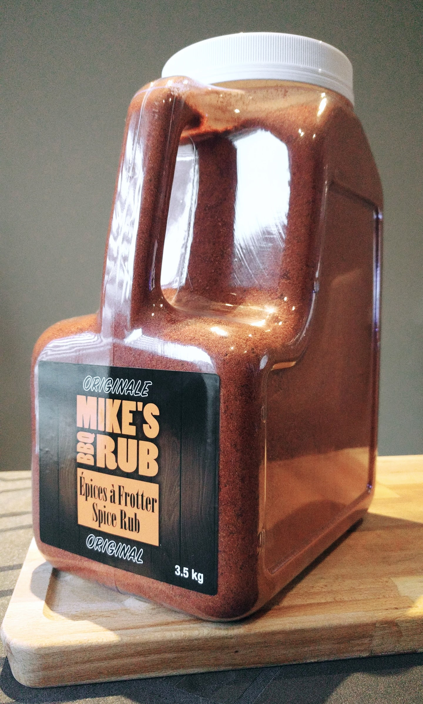 Mike's Original BBQ Rub 3.5 KG jar