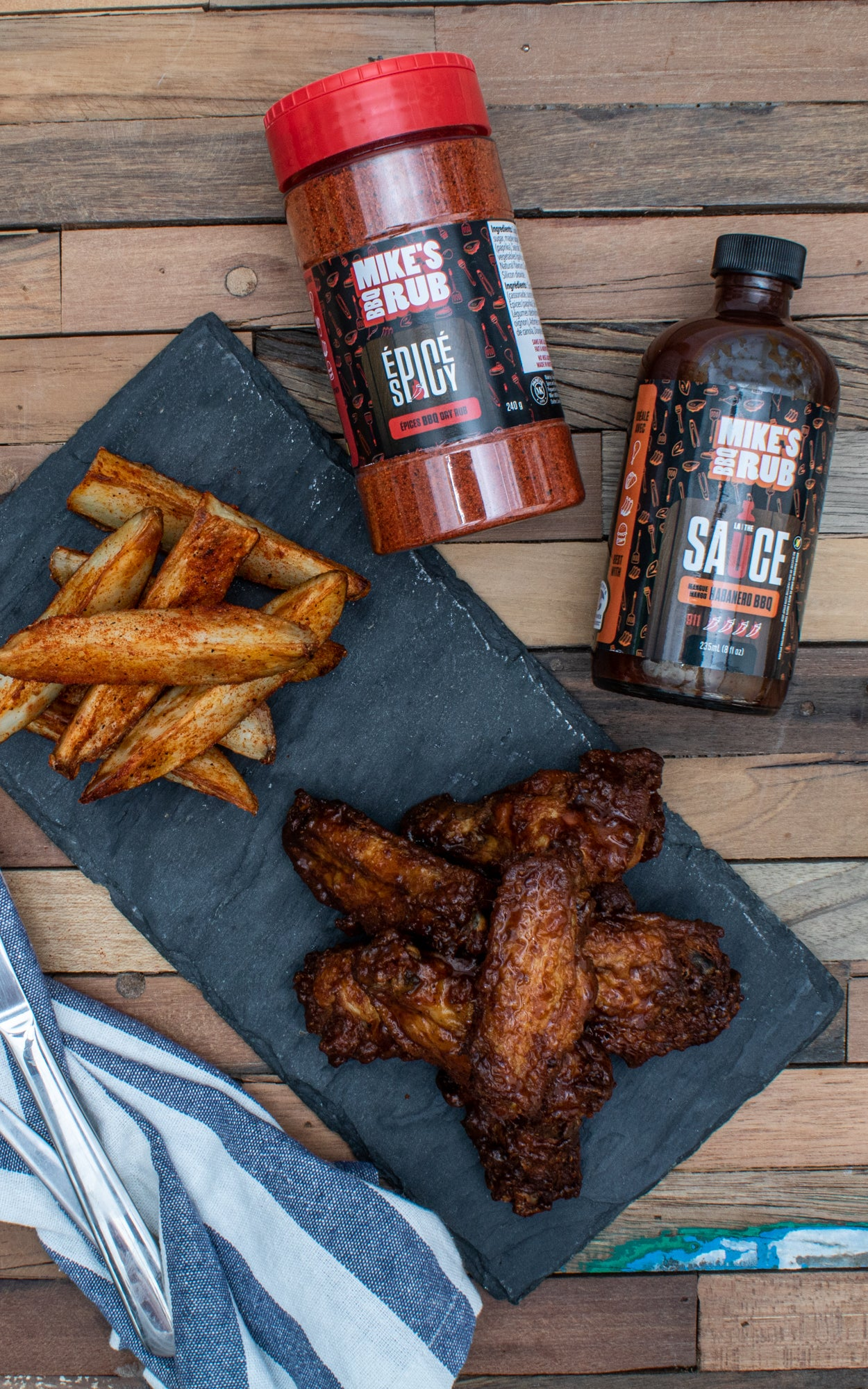 Pack famille de Mike's BBQ Rub