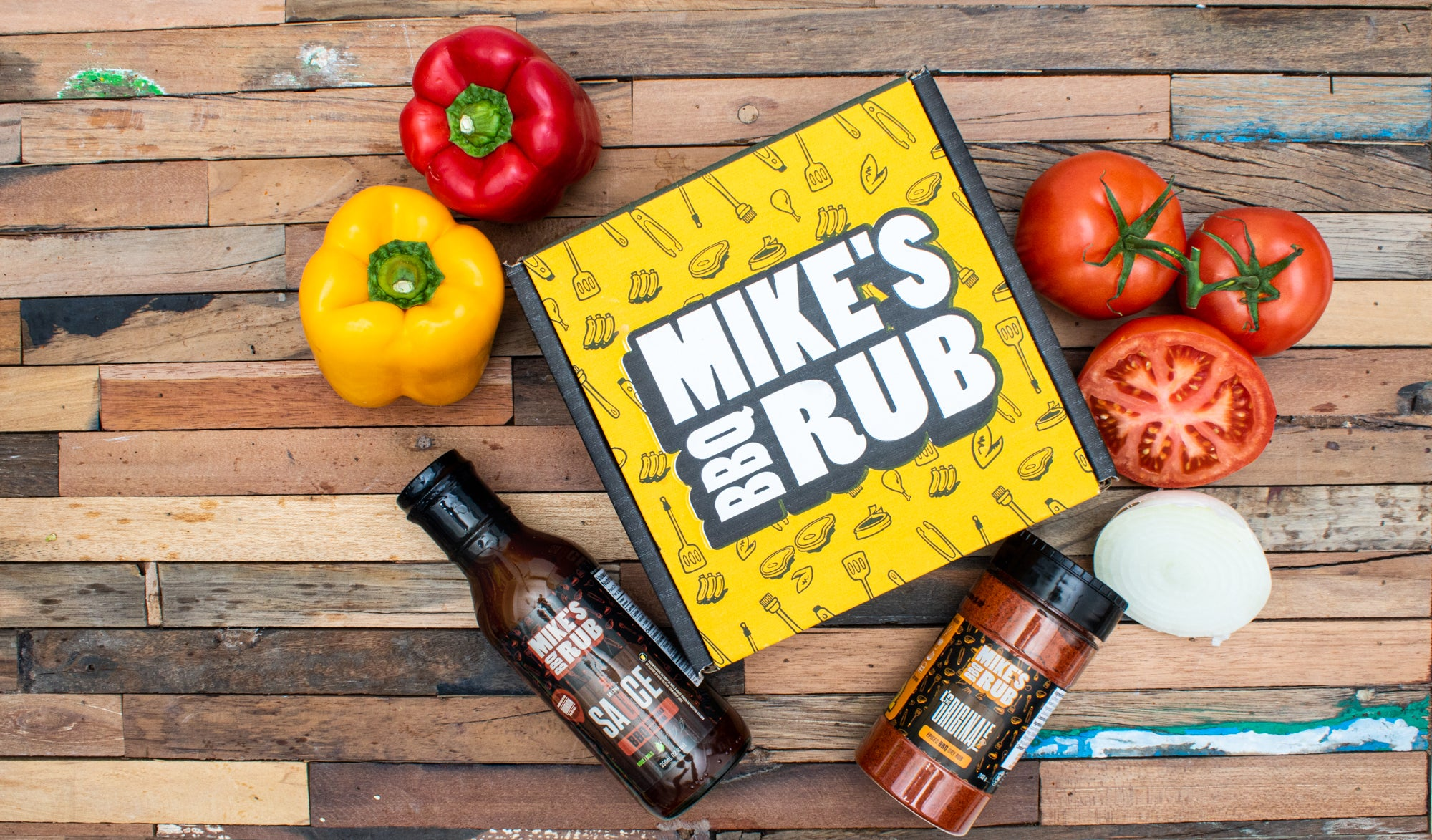Mike's BBQ Rub Family Pack + Exclusive Truffle Mustard + Free shipping!