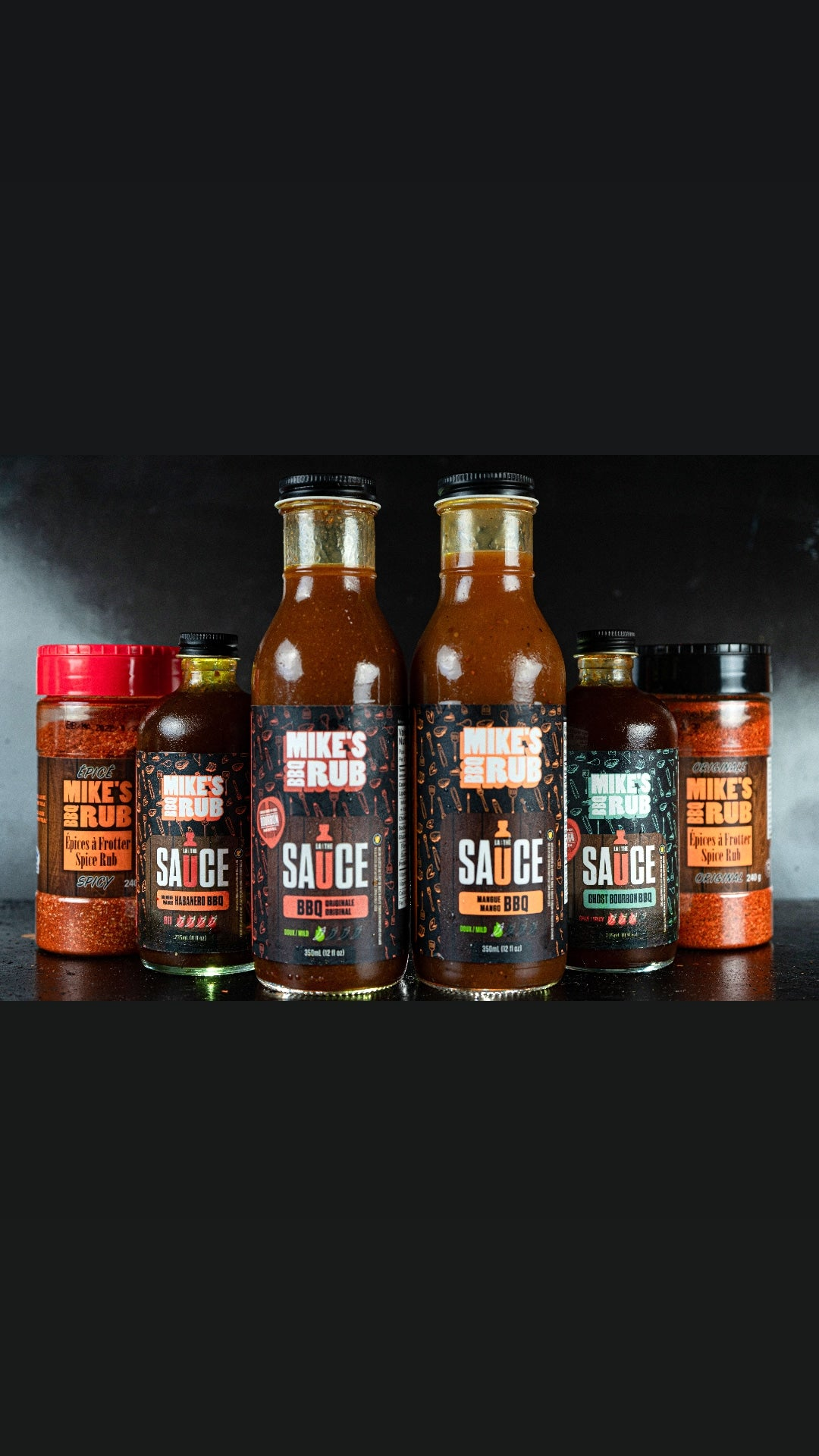 Mike's BBQ Rub Family Pack