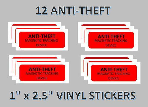 anti theft candy labels stickers vending