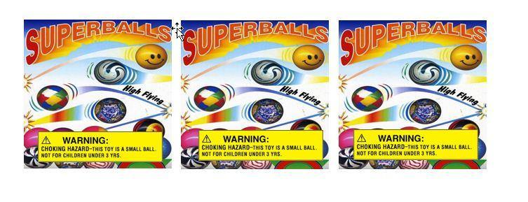 BOUNCY BALL Vinyl Vending Candy Label Sticker