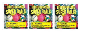 3 Pack BOUNCY BALL Vinyl Vending Candy Label Sticker D