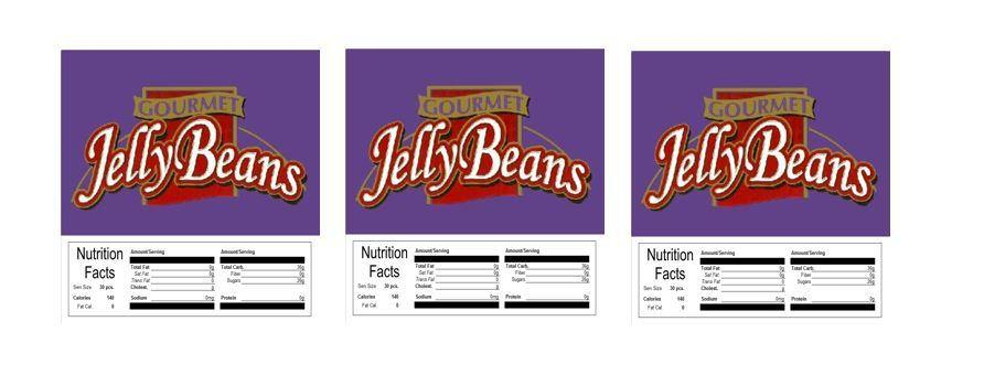 3 PACK Gourmet Jelly Beans 2.5