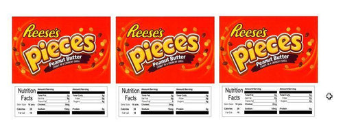 3 PACK Reeses Pieces 2.5