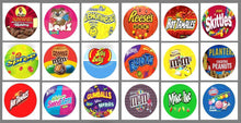 Load image into Gallery viewer, ROUND Stickers NO PRICE for Vending Candy Labels Machines
