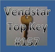 Load image into Gallery viewer, Vendstar TOP KEY Vending Candy Machine 157 or 159 - Vending Labels