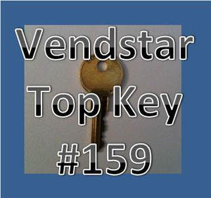 Vendstar TOP KEY Vending Candy Machine 157 or 159