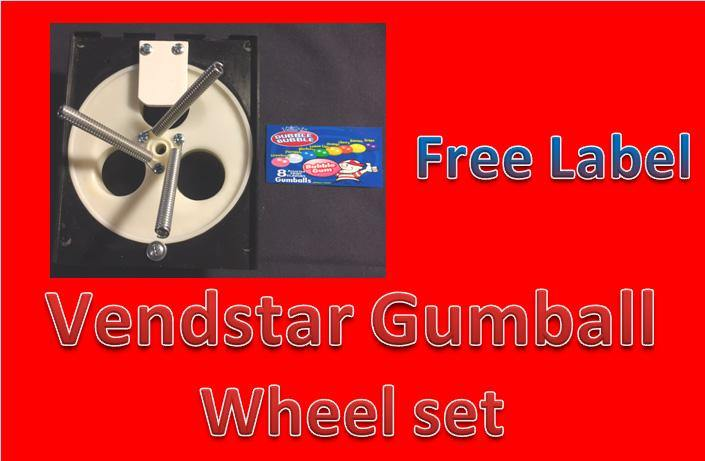 Vendstar GUMBALL WHEEL SET Replacement Better than OEM
