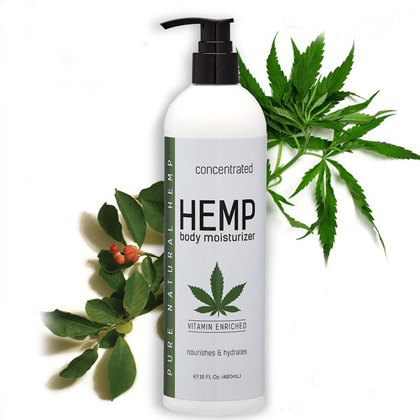 Pure Natural Hemp Body Moisturizer