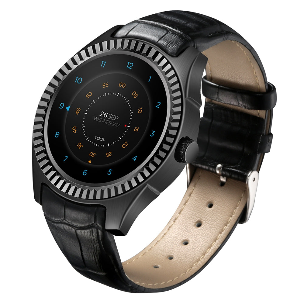 DTNO.I D7 3G Smartwatch Phone 1.3 inch Android 4.4 MTK6572 1.2GHz Dual Core 1GB RAM 8GB ROM Bluetooth 4.0 Heart Rate Measurement NFC IP65 Waterproof