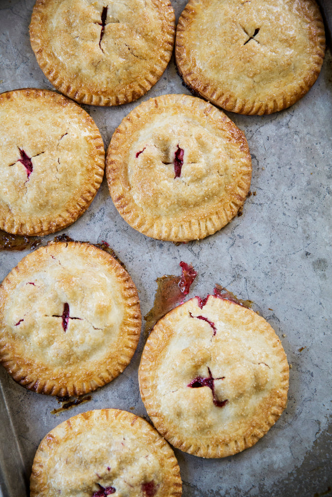 Festive Cranberry Hand Pies
