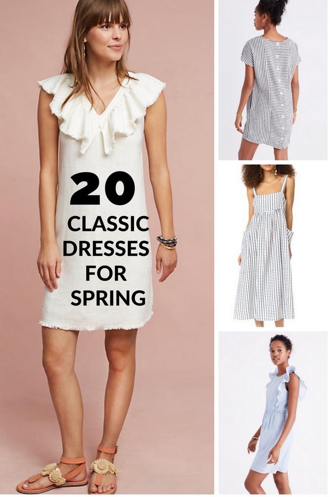 Spring Dress Silhouettes.