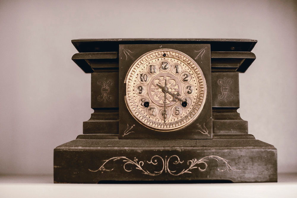 heirloomed story : Namesake Mantle Clock.
