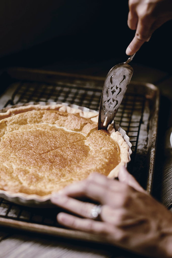 Buttermilk Pie.