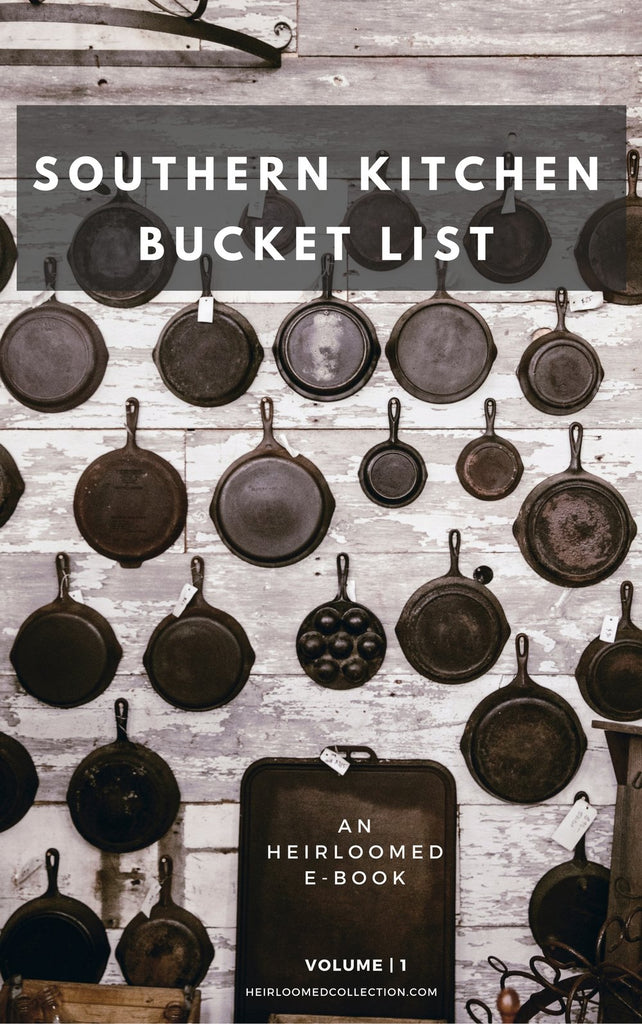 Southern Kitchen Bucket List E-Book.