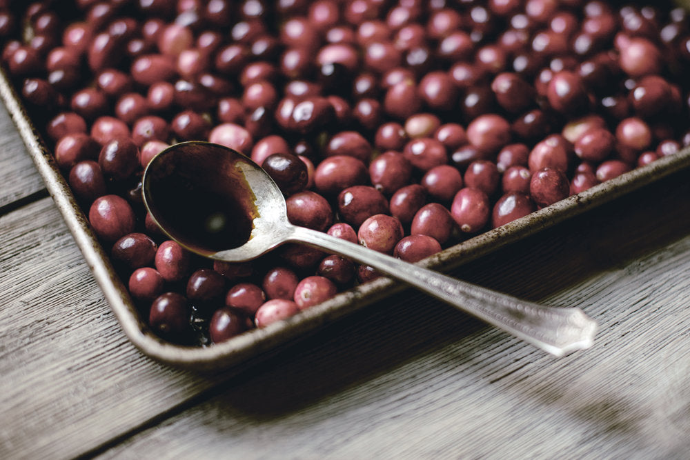 Roasted Cranberries.