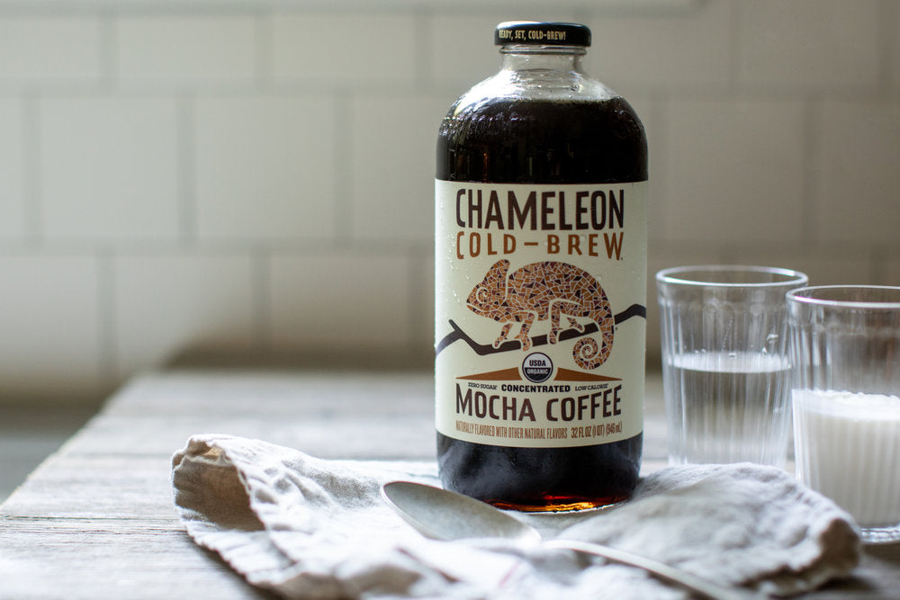 Coconut Milk Cold Brew Coffee.
