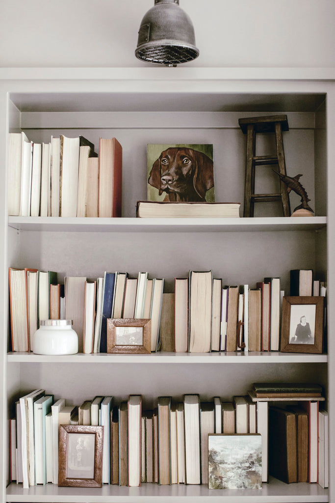 How to : Style your Book Shelf with Vintage Books.