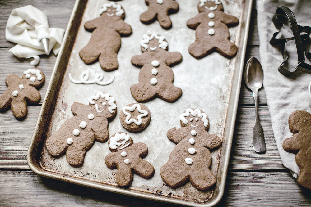 12 Days of Christmas Cookies : Gingerbread Men.
