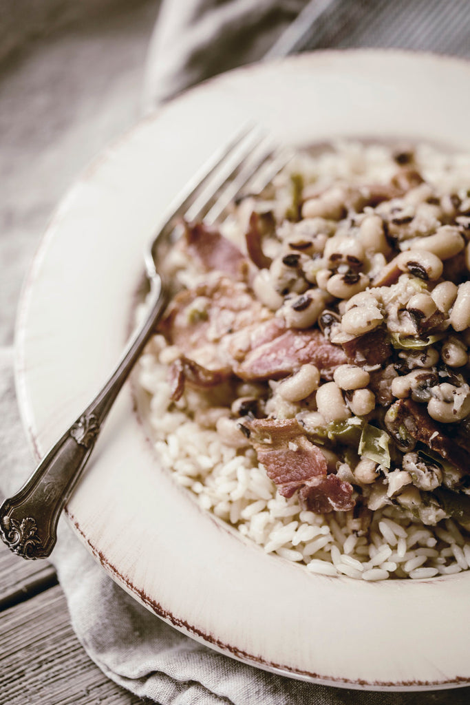 Hoppin' John for the New Year.