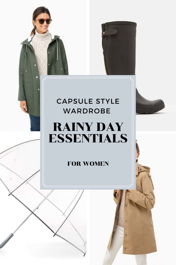 Best Women's Style for a Rainy Day.