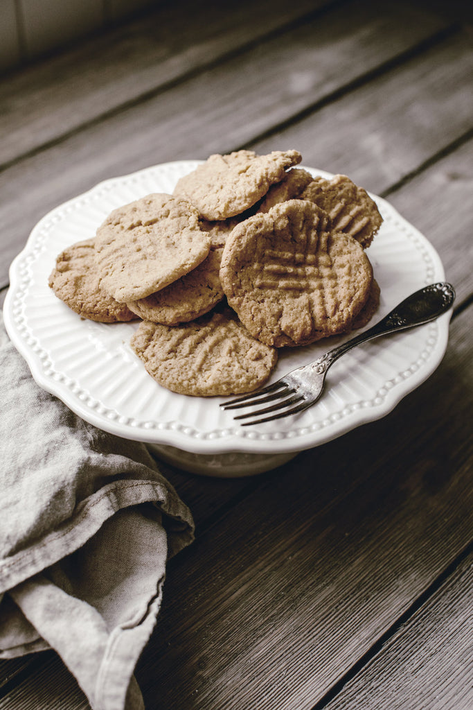 12 Days of Christmas Cookies : Classic Peanut Butter Cookies