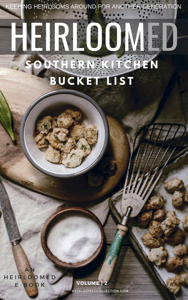 Southern Kitchen Bucket List (V2) E-Book