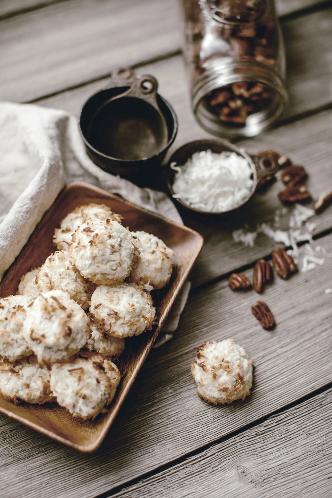 12 Days of Christmas Cookies : Coconut Balls