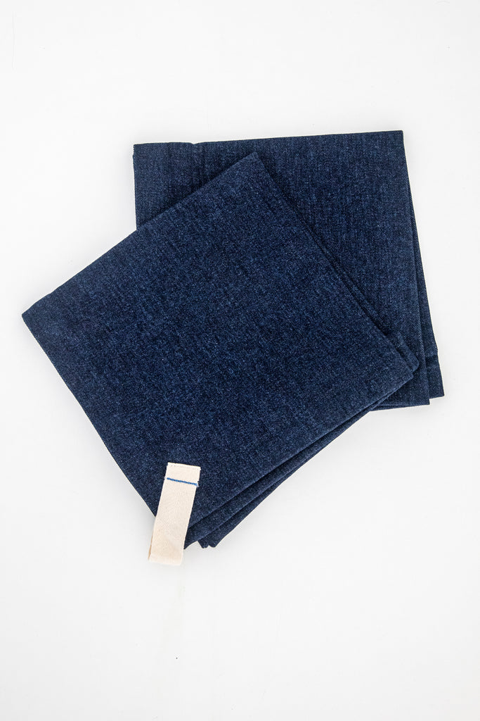 Denim Collection - Dark Denim Dinner Napkins