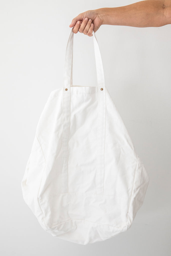 Studio Bag - White canvas