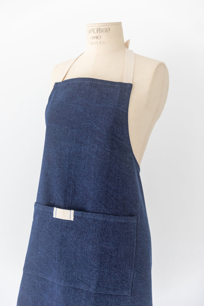 Denim Collection - Dark Denim Waist Apron