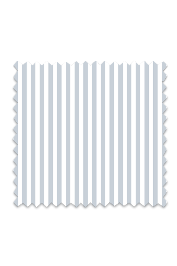 Awning Stripe Fabric in Light Blue
