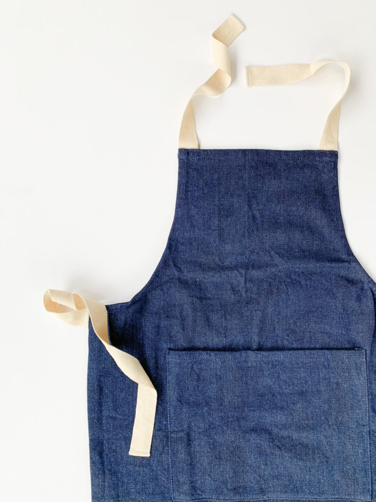 Denim Collection - Dark Denim Child Apron