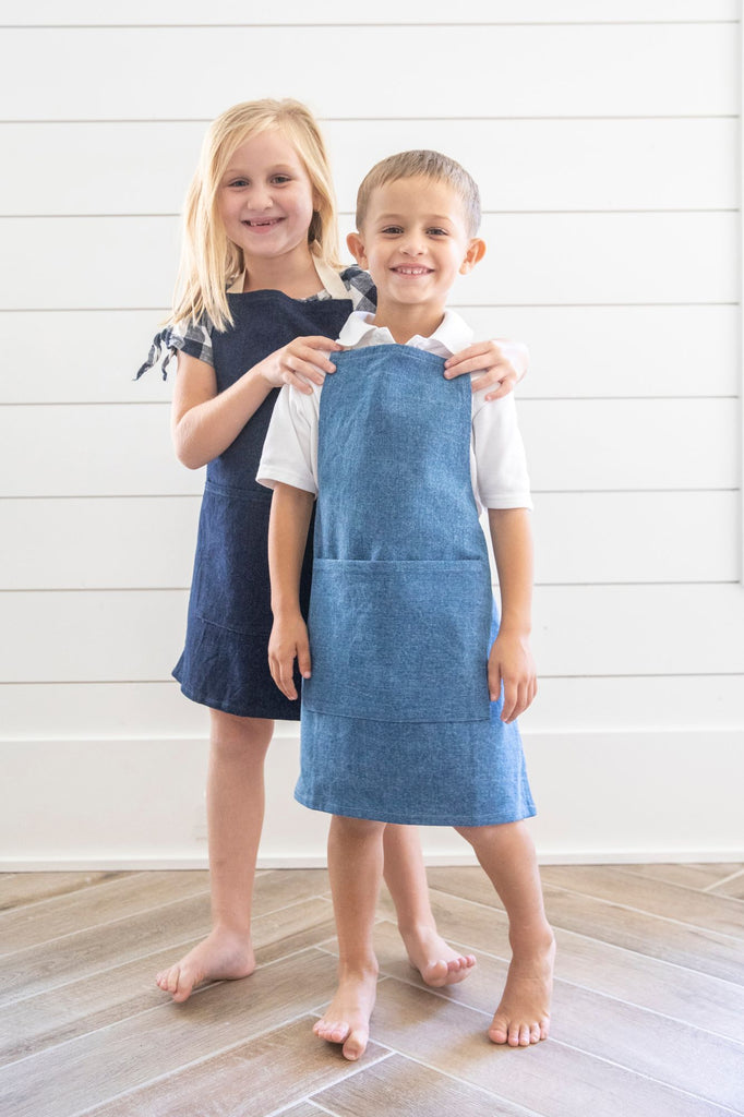 Denim Collection - Light Denim Child Apron
