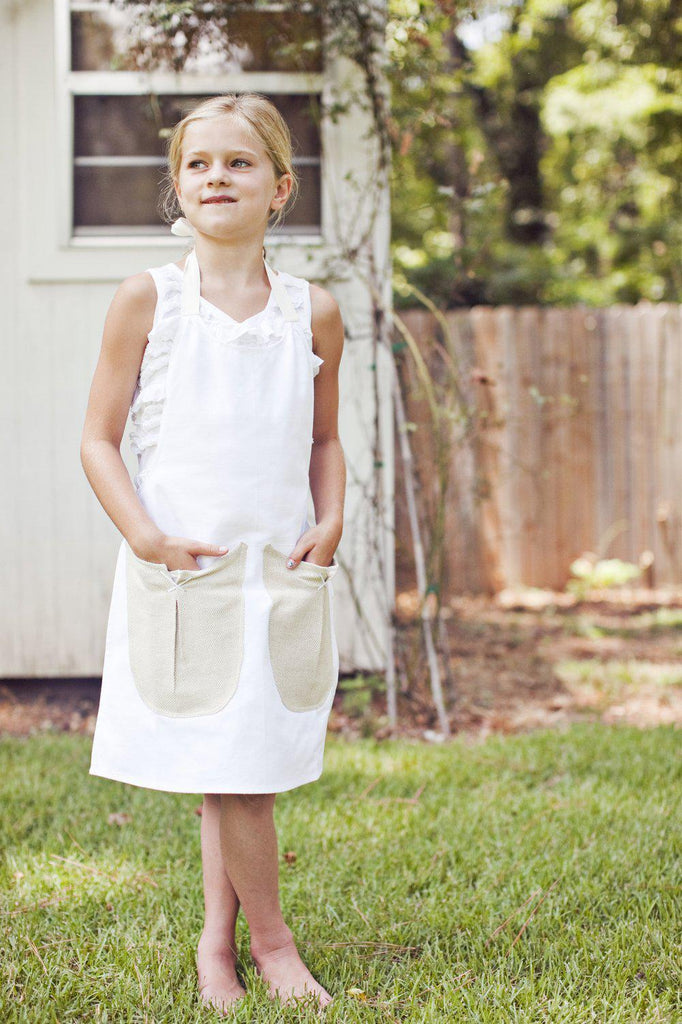 Children's Apron - Sugar Cone Scoops-Heirloomed