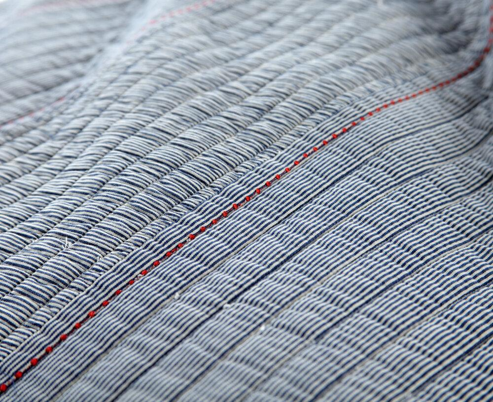 heirloomed Quilts - Railroad Stripe-Heirloomed
