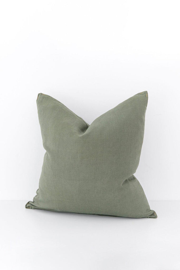Keepsake Collection Olive Pillow Cover-Heirloomed