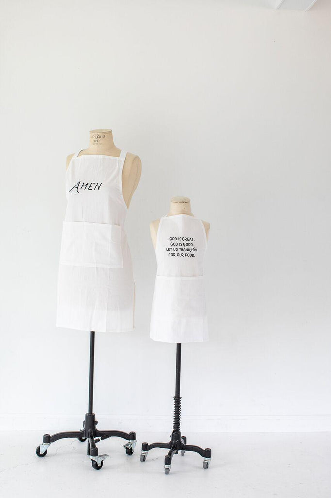 Simple Blessings Adult Apron (Amen)-Heirloomed