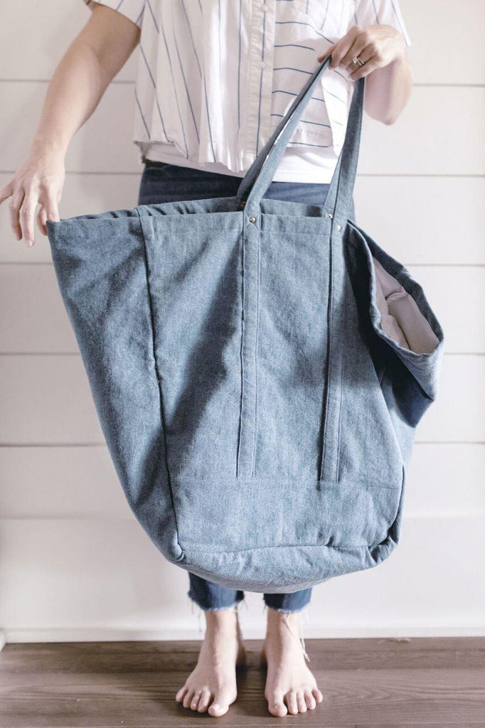 Studio Bag - Light Denim-Heirloomed