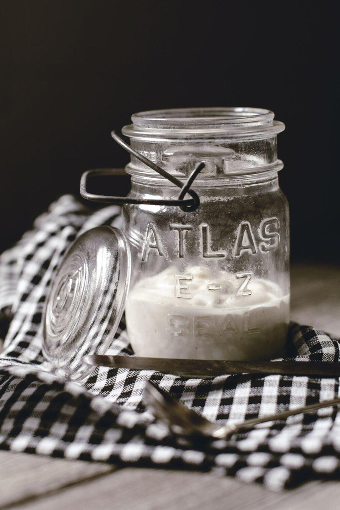Vintage Atlas Mason Jars-Heirloomed
