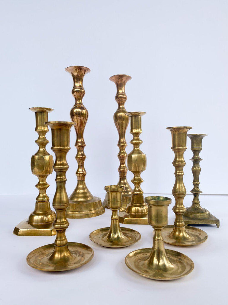 Vintage Candle Sticks-Heirloomed