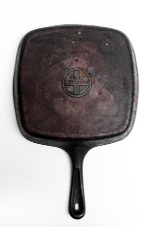 Vintage Griswold Cast Iron Skillet-Heirloomed