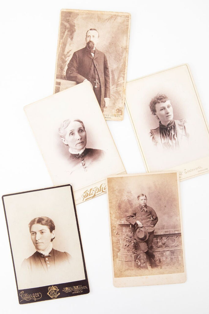 Vintage Portrait Cards-Heirloomed