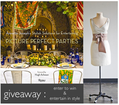 giveaway entertain in style