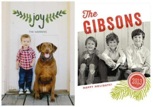 minted holiday card 5 6