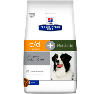Hill's Prescription Diet c/d™ Multicare + Metabolic hundefoder 12 kg