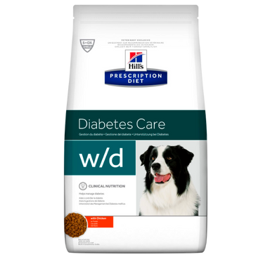 Hill's Prescription Diet w/d Digestive/Weight/Diabetes Management med kylling 4 kg