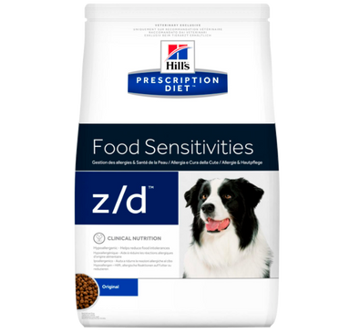 Hill's Prescription Diet z/d Food Sensitivities - Til hunde med foderallergi 3 kg